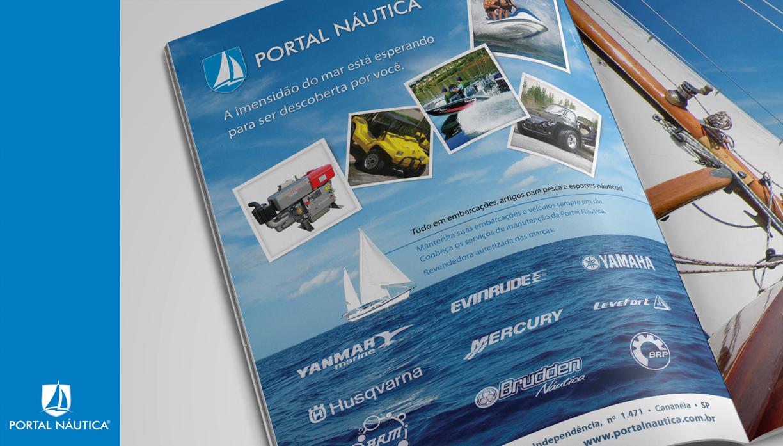portal náutica anúncio de revista
