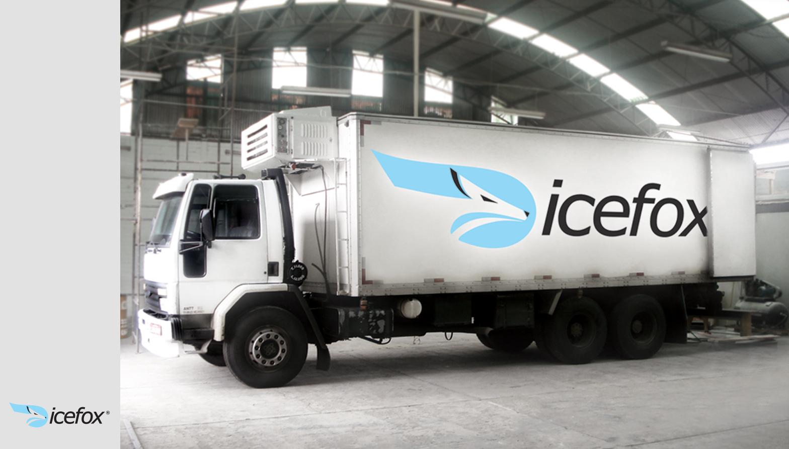 icefox logo aplicado