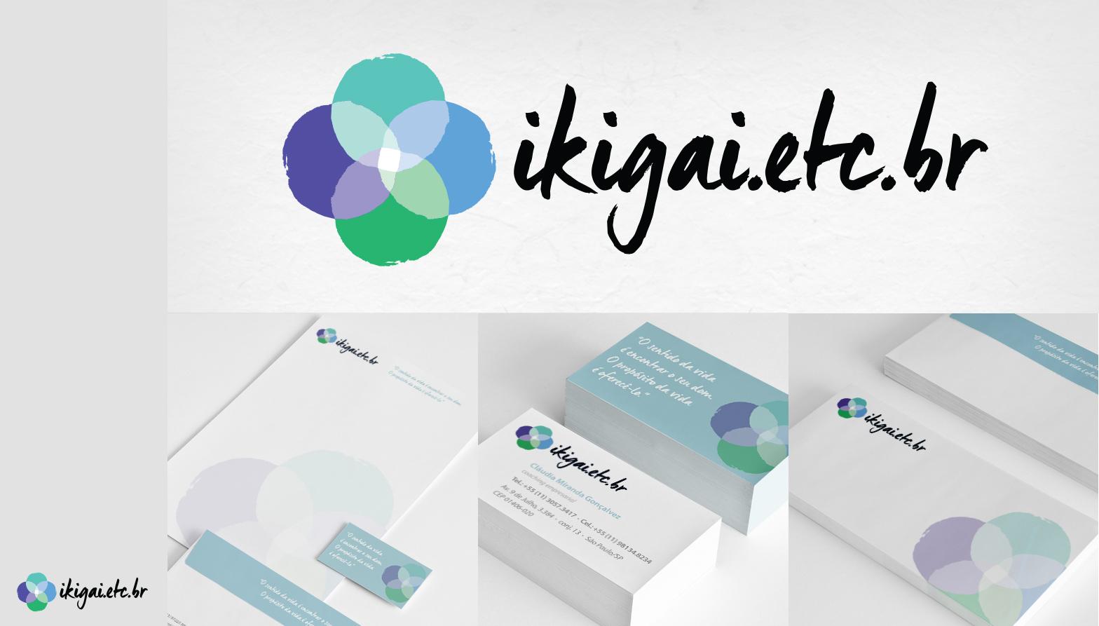 material impresso aplicado ikigai